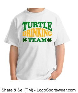 White Drinking Team Design Zoom